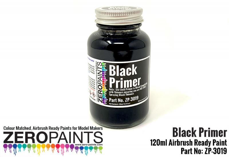 Black Primer/Micro Filler 120ml Airbrushing