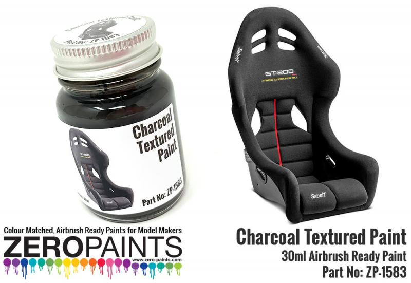 Charcoal Textured Paint 30ml