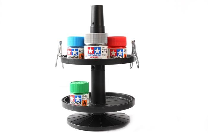 Bottle Paint Stand c/w 4 Alligator Clips