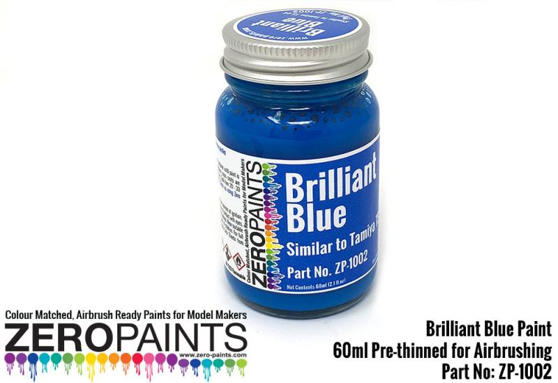 Brilliant Blue Paint (Similar to TS44) 60ml