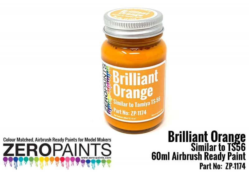 Brilliant Orange Paint (Similar to TS56) 60ml