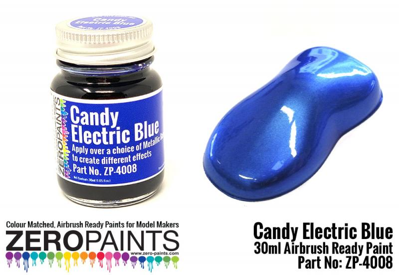 Candy Electric Blue Paint 30ml