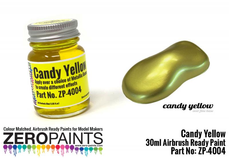 Candy Yellow Paint 30ml