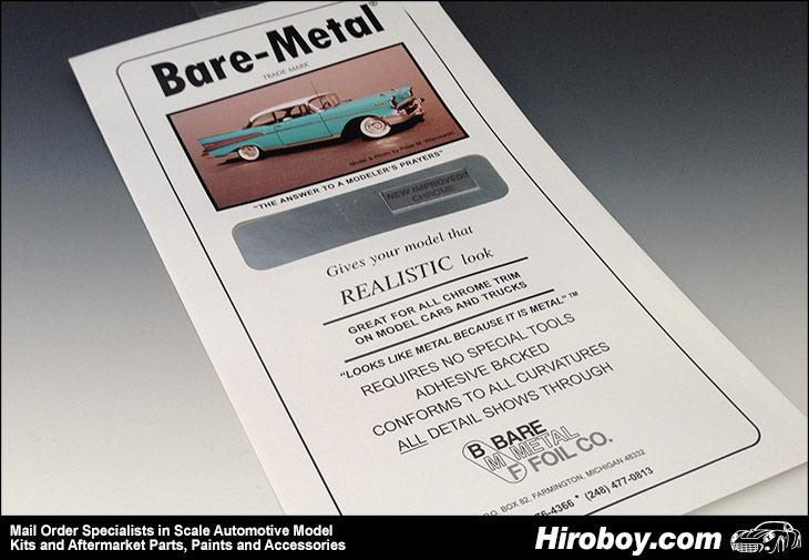 Chrome (New Improved) - Bare Metal Foil
