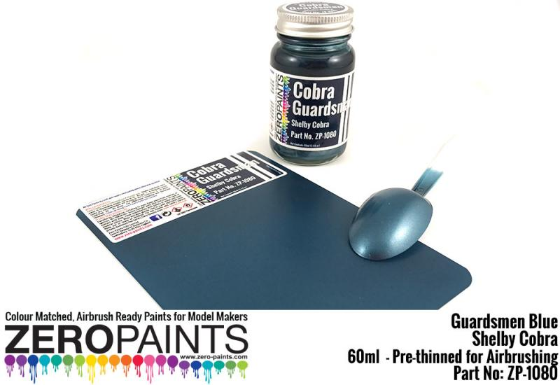 Cobra Guardsman Blue Paint 60ml