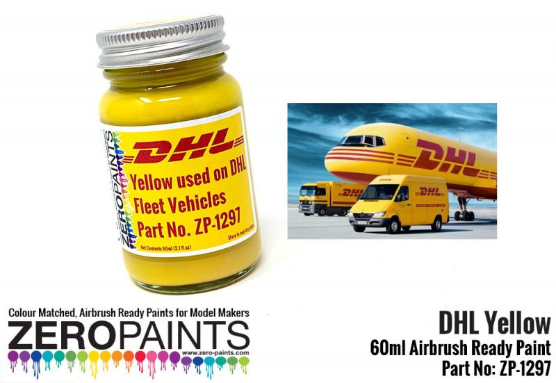 DHL Yellow Paint - 60ml