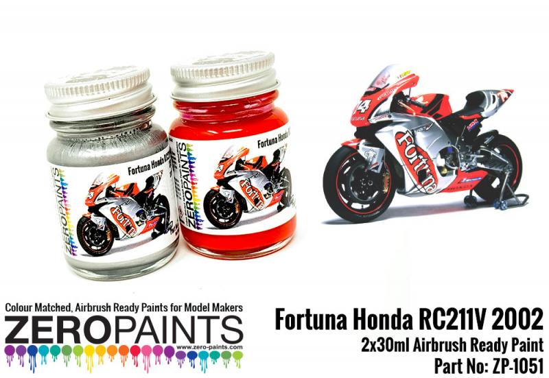 Fortuna Honda RC211V 2002 Paint Set 2x30ml