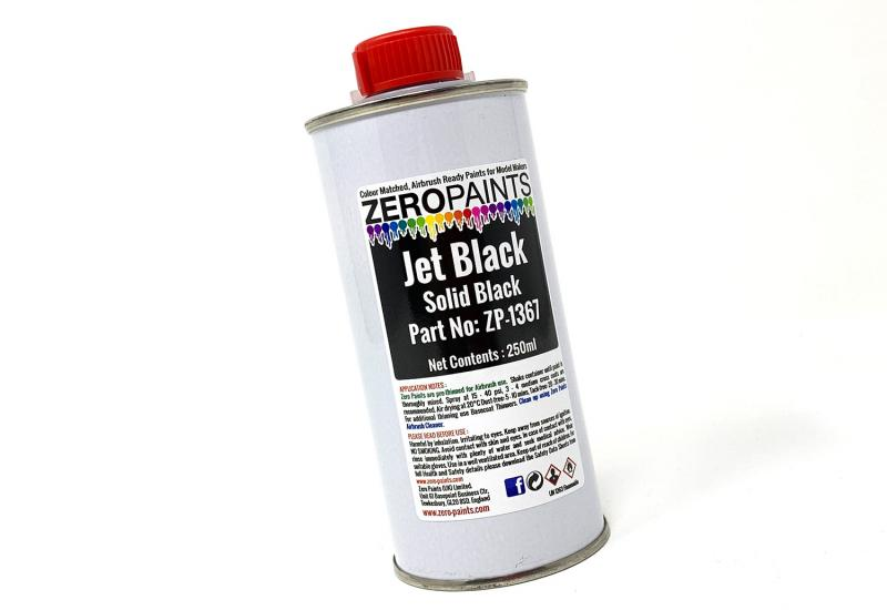 Jet Black Paint 250ml
