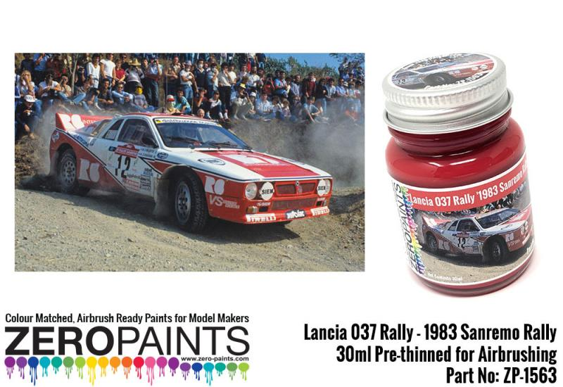 Lancia 037 Rally '1983 Sanremo Rally' Red Paint 30ml