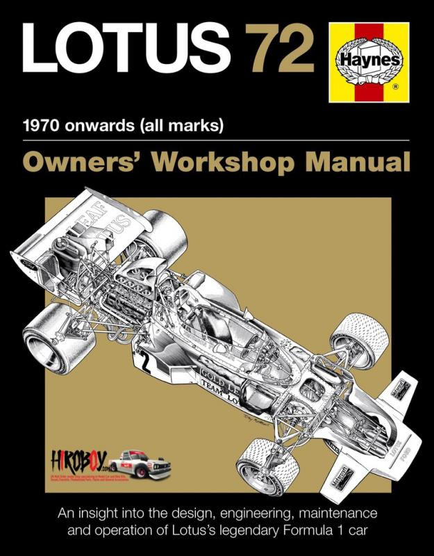 Lotus 72 Owners' Workshop Manual