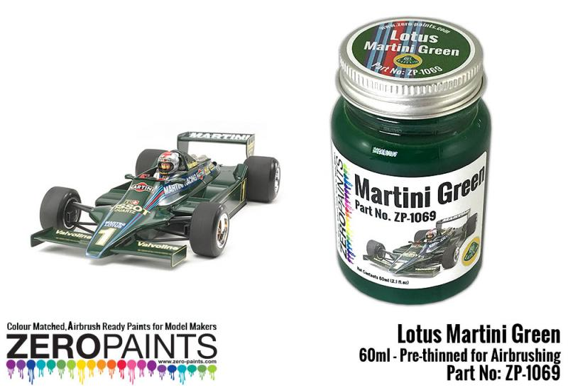 Lotus Martini Green Paint 60ml