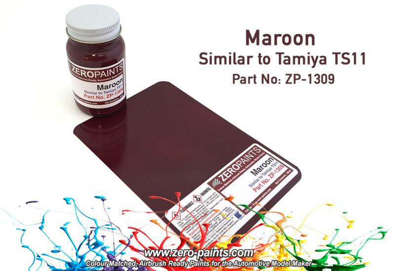 Maroon Paint - Similar to TS11 60ml
