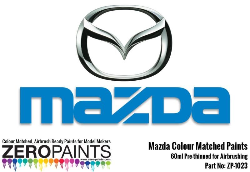 Mazda Colour Matched Paints 60ml