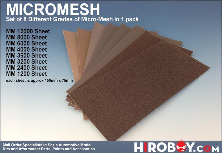 Micromesh Pack (8 Different Grades in 1 Pack)