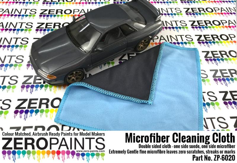 Microfiber Cleaning Cloth - Zero Paints