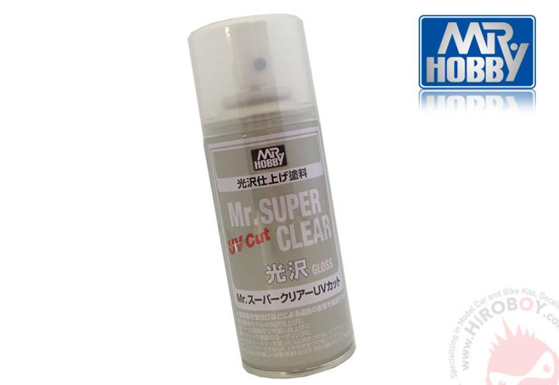 "Mr.Super Clear ""UV Cut"" Gloss Clear Coat Spray 170ml"