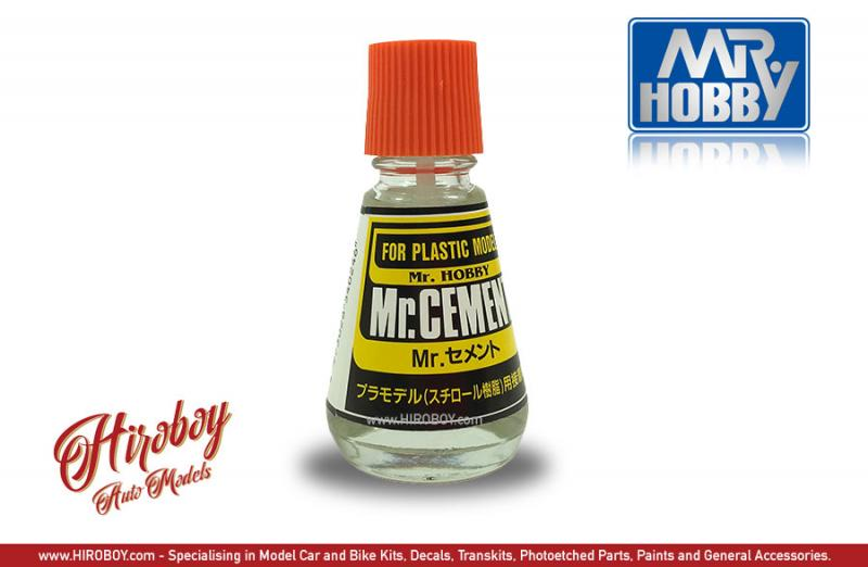 Mr Cement (Plastic Model Glue/Cement) 23ml