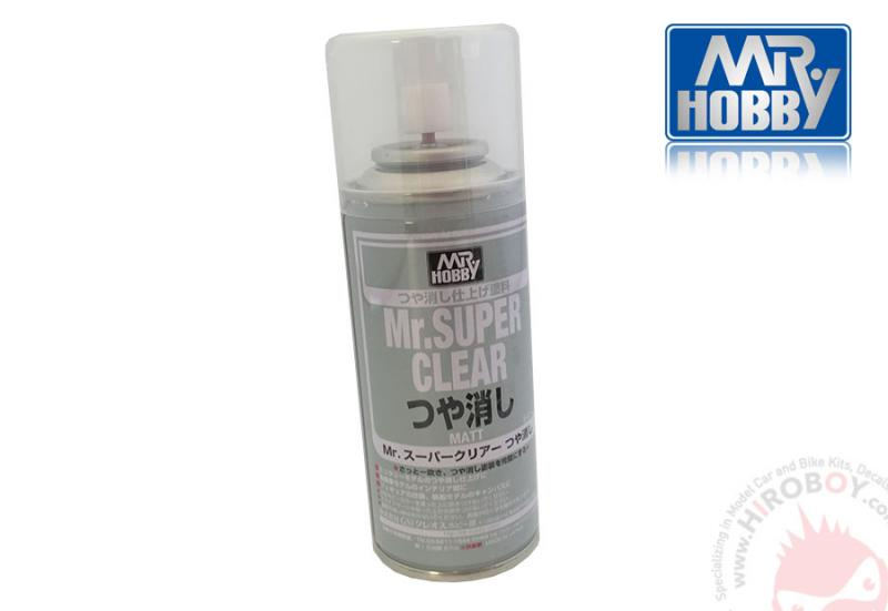 Mr Super Clear Flat (Matt) (170ml) (also use on BJD dolls  - Pullip)