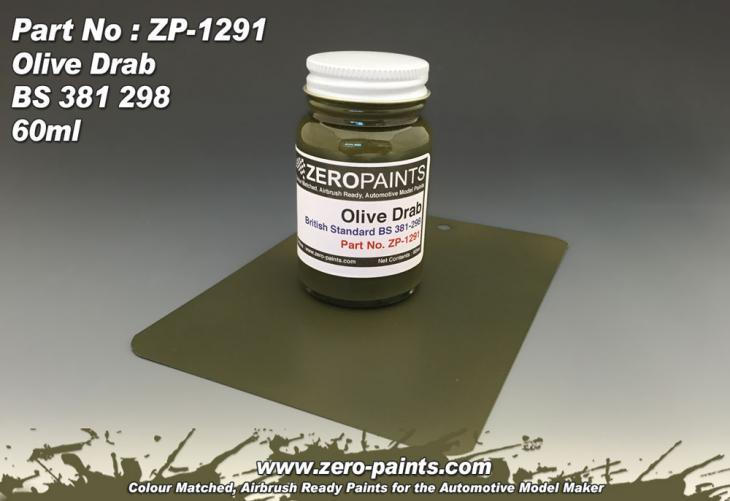 Olive Drab Paint - 60ml