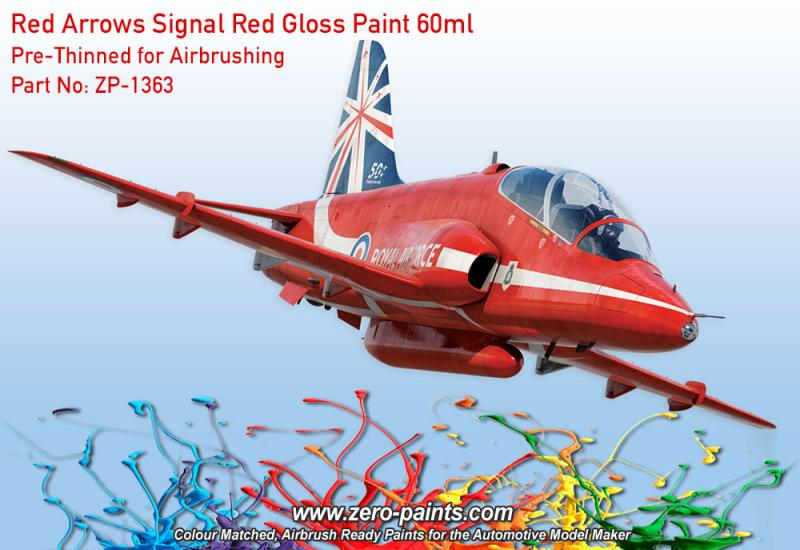 Red Arrows - Signal Red Gloss Paint 60ml