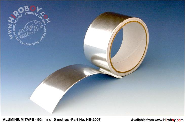 Roll of Aluminium Foil Tape 0.015mm x 50mm x 10m
