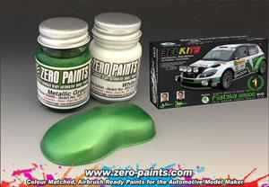 Skoda Fabia S2000 Evo (for Belkits) Paint Set 2x30ml