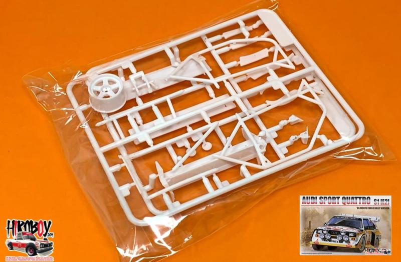 Spare Part Tree D-C - 1:24 Audi Quattro Sport S1 Group B