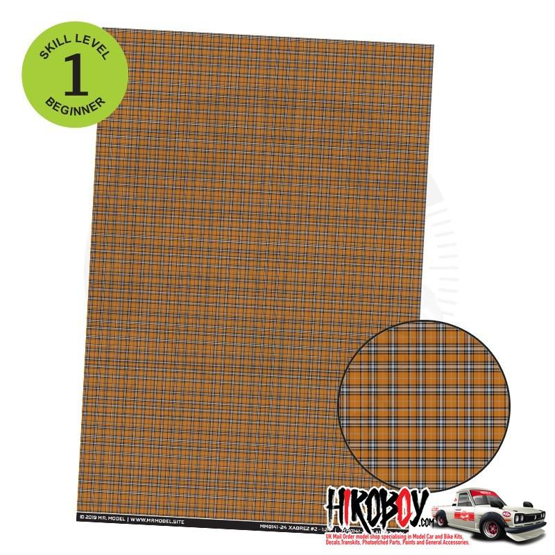Upholstery Pattern Decals - Plaid Pattern Decal 2