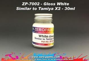 White Paint 30ml - Similar to Tamiya X2