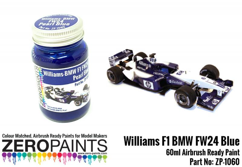 Williams F1 BMW FW24 Blue Paint 60ml