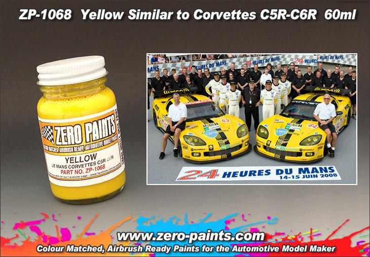 Yellow Paint for Corvettes C5R-C6R 60ml