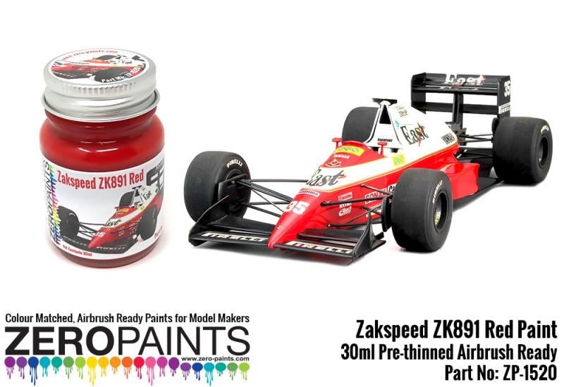 Zakspeed ZK891 Red Paint 30ml