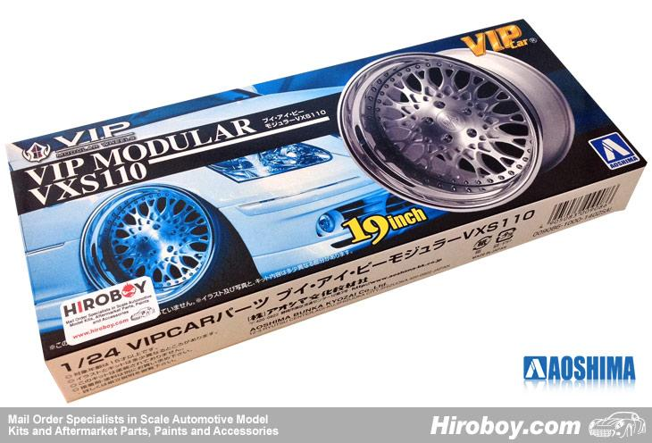 "1:24 VIP Modular VXS110 19"" VIP Wheel and Tyre Set #07"