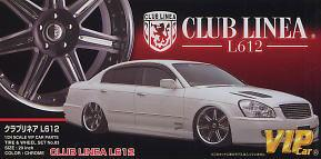 1:24 Club Linea L612 20 Inch VIP Wheels & Tyres