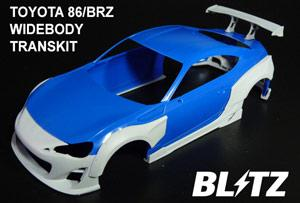 1:24 Blitz BRZ/GT86 14pc Widebody Transkit for Tamiya