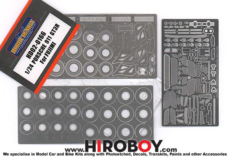 1:24 Porsche 911 GT3R (Fujimi) Photoetched Detail up Set