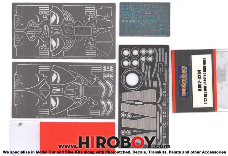 1:24 Redbull Racing RB8 F1 (Revell) Photoetched Detail up Set