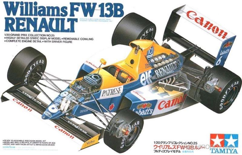 1:20 Williams FW13B Renault - 20025