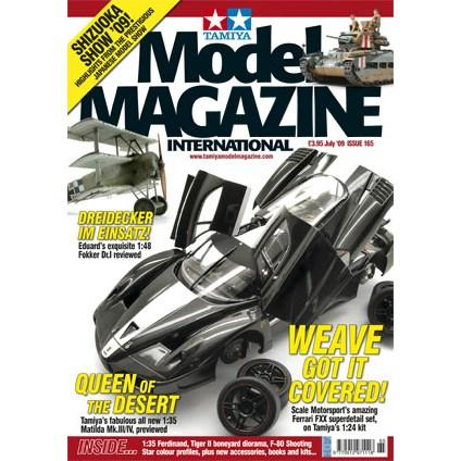 Tamiya Model Magazine - #165 (Ferrari FXX Carbon)