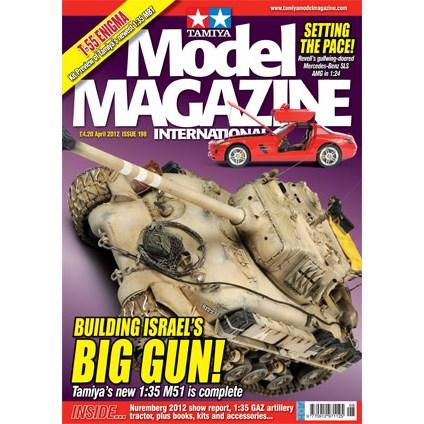 Tamiya Model Magazine - #198 (Merc SLS)