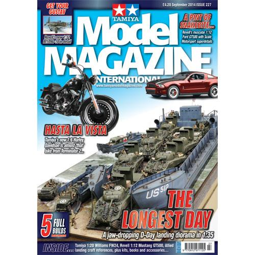 Tamiya Model Magazine - #227 (1:12 Shelby GT500 - 1:20 FW24 - 1:6 Harley Davidson Fat Boy Lo)