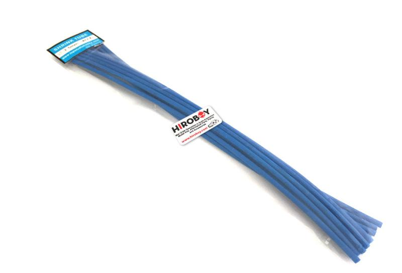 2.5mm Shrink Tubing BLUE - 10 off