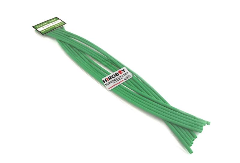 2.5mm Shrink Tubing GREEN - 10 off