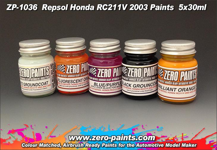 Repsol Honda RC211V 2003 Paint Set 5x30ml