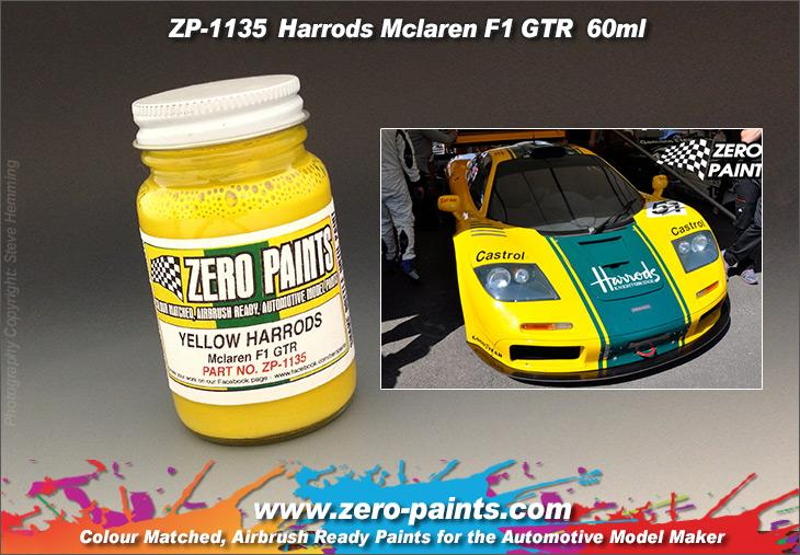 Mclaren F1 GTR Harrords Yellow Paint 60ml