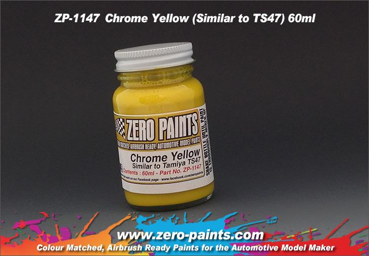 Chrome Yellow Paint (Similar to TS47) 60ml