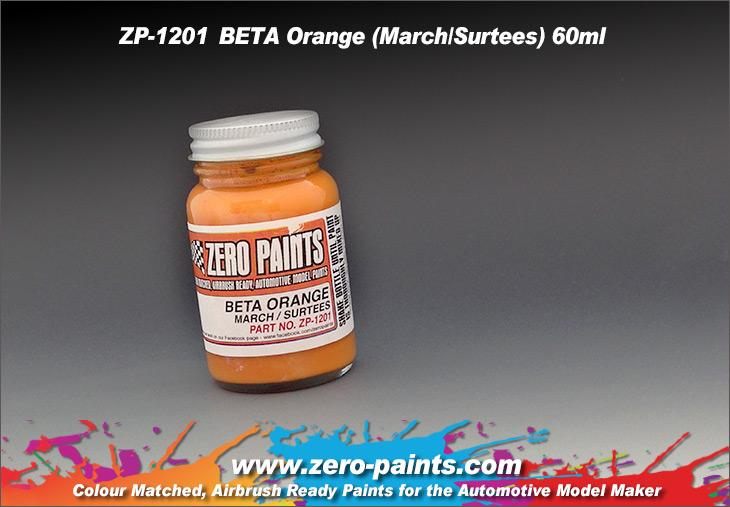 BETA Orange (March/Surtees) Paint 60ml