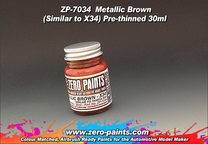 Metallic Brown Paint 30ml - Similar to Tamiya X34