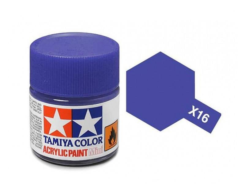 Tamiya Acrylic Mini X-16 Purple (Gloss) - 10ml Jar