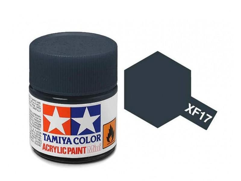 Tamiya Acrylic Mini XF-17 Sea Blue - 10ml Jar